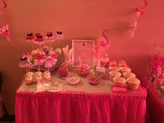 Candy Buffet for a Ballerina bday party  (Made by Me) - Jessica