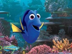 Pixar fans were introduced to Ellen Degeneres' Dory in Finding Nemo , and 13 years after that release, she's leading her own movie, Finding Dory . However, marine biologists have this issue with the upcoming Pixar blockbuster. Disney Pixar, Walt Disney, Disney Marvel, Disney Cinema, Animation Disney, Disney Quiz, Cinema 21, 3d Animation, Movie Trailers
