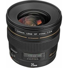 Canon EF 20mm f/2.8 USM Lens 2509A003 B&H Photo Video