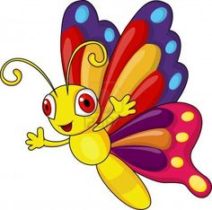 butterfly cartoon - Google Search.. My worm friends is this batterfly