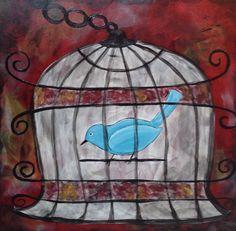 Pet Blue Bird