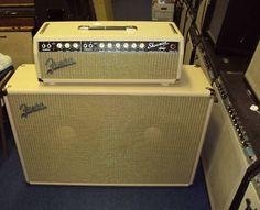 vintage fender showman | Fender Showman Head & Cabinet Vintage 1967 White | Vintage Guitar ...
