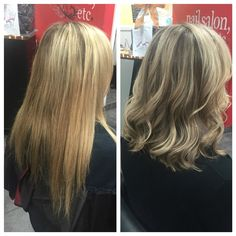 Before & After by yours truly @amy_ziegler #versatilestrands