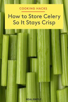 Fruit And Vegetable Storage, Vegetable Dishes, Vegetable Recipes, Celery Recipes Healthy, Recipes With Celery, Celery Ideas, Healthy Food, Bloody Mary, How To Store Celery