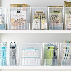 Organize your pantry with pantry organizers from The Container Store! Our pantry organizers come in many designs and sizes to fit any kitchen pantry space.