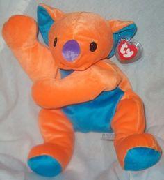 Kolala Pillow PAL Orange Koala Ty Beanie Babies | eBay