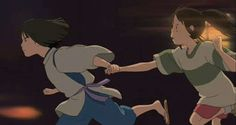 Spirited Away - Sen / Chihiro and Haku / Kohaku  The Reading Hour