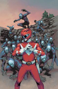 Red Ranger by Takeshi Miyazawa #SonGokuKakarot
