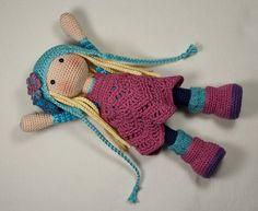 Crochet pattern for doll SUE