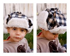 Creative ideas for you: Free Lumberjack Hat Pattern and Tutorial