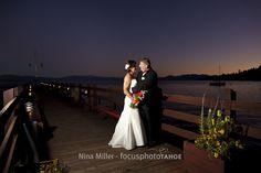 sunset on Gar Woods' pier