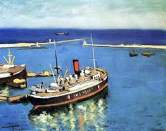 Blue Waters, Algiers  Albert Marquet - 1942