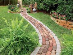 Gartenwege-gestalten-Eine-moderne-Dekoration