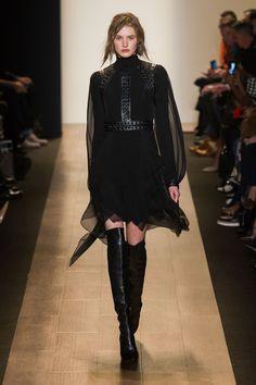 BCBG Max Azria // New York Fashion Week Fall 2015 // Stylebistro.com. Better with heels