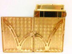 Rare Art Deco Cigarette Case Lighter Bakelite by LootByLouise #tobacciana #giftidea #artdeco #bakelite