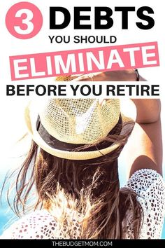 Many know the importance of eliminating debt, especially before retirement. To get the most out of your retirement, here are three types of debt you should work on eliminating before you retire. - The Budget Mom No Spend Challenge, Money Saving Challenge, Saving Money, Saving For Retirement, Retirement Planning, Retirement Savings, Retirement Cards, Early Retirement, Retirement Pictures