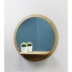 Miroir Mural avec tablette Sunrise petit modèle REINE MÈRE