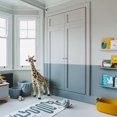 A grey and yellow boy's room. A bedroom designed for a little boy called Finn. A stylish room with a playful touch. Boy Toddler Bedroom, Boys Bedroom Decor, Baby Boy Rooms, Baby Room For Boys, Childrens Bedrooms Boys, Cool Boys Room, Modern Kids Bedroom, Bedroom Ideas, Home Decoracion