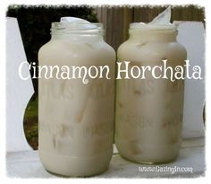 Lazy Day Cinnamon Horchata - allergy friendly. Kids love it!
