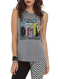 HOTTOPIC.COM - MTV Boombox Logo Top 3XL