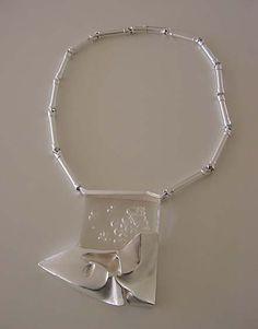 WINTERS DAY Björn Weckström for Lapponia Finland Sterling Silver + Acrylic Contemporary Jewellery, Modern Jewelry, Jewelry Art, Jewlery, Silver Jewelry, Vintage Jewelry, Jewelry Necklaces, Jewelry Design, Brutalist