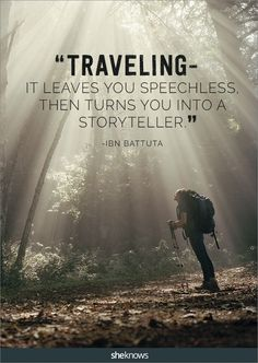 These 25 Travel Quotes Will Give You a Major Dose of Wanderlust is part of Life quote Adventure The Journey - If the wanderlust bug hasn't bitten you yet this summer, these quotes should do it Best Travel Quotes, Best Quotes, Travel The World Quotes, Voyager C'est Vivre, Wanderlust Quotes, Wanderlust Travel, Motivational Quotes, Inspirational Quotes, Positive Quotes
