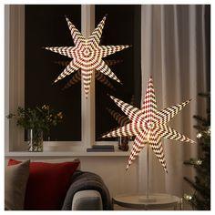 Ikea Vinterfest Dekobeleuchtung Tannenbaum 16cm  LED Batteriebetrieben Neu
