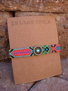 Friendship Bracelet Tropicana Mix/Neon/Boho/HIppie/Beach style