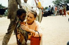 Audrey Hepburn in Somalia, just 4 months before her death in 1992 due to cancer. I love her. She's my idol.