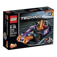LEGO Technic Race Kart 42048 Building Kit LEGO He does not have any Lego Technic sets...