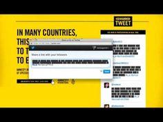 Amnesty International: Censored Tweet