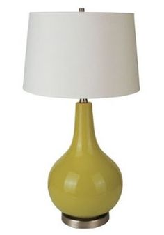 Green Ceramic Table Lamp by theproperhunt Echo Jaipur Bedding