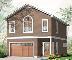 Modular garages with apartment perfect garage is for Garage apartment plans canada