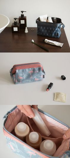 The spacious compartment, water resistant material, the cutest patterns outside and the hidden frame that let the pouch stay in rectangular shape; the Dailylike Frame Pouch is the perfect pouch for daily use and for my next travel as well!