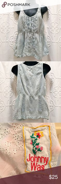 Johnny Was Blouse Perfect for summer. Lightly worn. ✅Bundle & Save 🚫Sorry no trading 👍Fast Shipper 💕Happy Poshing Johnny Was Tops Blouses