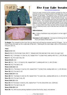 Best 12 free knit pattern baby leaf cardigan and hat – SkillOfKing. Baby Cardigan Knitting Pattern Free, Baby Sweater Patterns, Knitted Baby Cardigan, Knit Baby Sweaters, Knit Baby Booties, Baby Hats Knitting, Easy Knitting, Baby Knitting Patterns, Baby Patterns