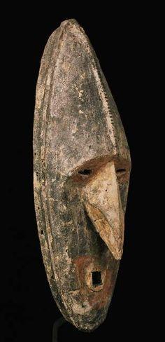 Spirit Mask, Lower Seoik, Art Océanien - Art Tribal - Art Premier - Galerie Franck Marcelin