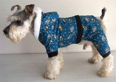 Blue Schnauzer Dog Coat Winter Four-legs Puppy Pet Clothes Special Offer, Good touch feeling, factory Price, Fast shipment