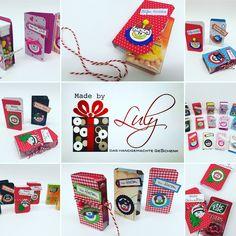 Delorierte Tic-Tac Box Handgemachte Geschenke www.facebook.com/madebyLuly