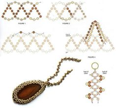 DIY/BEADING/WISIOR Bezelled Pendant and Necklace -3