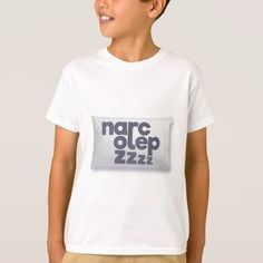 #Narcolepsy zzz T-Shirt - #cool #kids #shirts #child #children #toddler #toddlers #kidsfashion