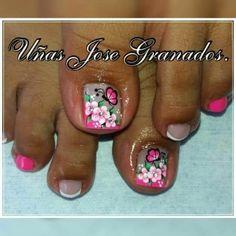 Manicure, Nails, Nail Designs, Hair Beauty, Diana, Finger Nails, Vestidos, Polish Nails, Pretty Toe Nails