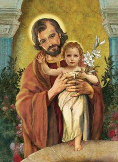 JESÚS CON SU AMADO JOSÉ
