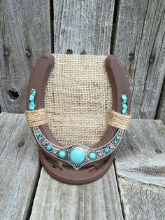 Horseshoe Earring Holder Earring Display Rustic Country