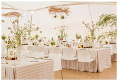 Gorgeous Tent Decor Botanical Inspired Wedding from South Africa: Josi + Jamess Marquee Decoration, Tent Decorations, Reception Decorations, Wedding Centerpieces, Reception Ideas, Event Ideas, Tent Wedding, Wedding Table, Wedding Album