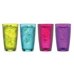 Bormioli Rocco, Vibrante Highball Glasses Set of 4
