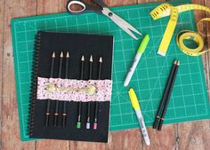 Great idea for my planner! I'm ALWAYS needing to jot down a new doctor appointment or therapy session for my daughter's multiple special needs and can never seem to find a pencil! This should do the trick! Thanks, Elsie Larson! :)