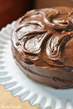 Chocolate Cake Recipe (gluten-free, dairy-free) #chocolate #recipe #gf