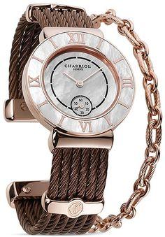 Charriol St. Tropez Round Steel Watch, 30mm on shopstyle.com