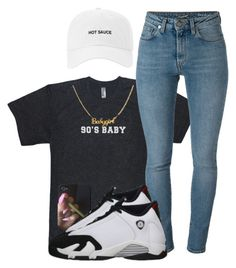 """""""If You're A 90's Baby, You Should Like This."""" by myia-bored-ass ❤ liked on Polyvore featuring Yves Saint Laurent and Retrò"""